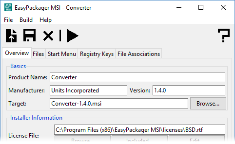 EasyPackager from Approximatrix